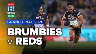 Brumbies v Reds 2020 Super rugby AU Grand final video highlights | Super Rugby AU