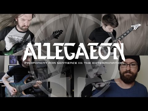 Allegaeon - Proponent For Sentience III - The Extermination (OFFICIAL VIDEO)