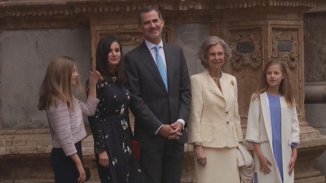 Πάσχα στην Μαγιόρκα για τη βασιλική οικογένεια της Ισπανίας