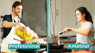 Video Amateur Chef Vs. Professional Chef: Hangover Foods MP3, 3GP, MP4, WEBM, AVI, FLV Oktober 2018