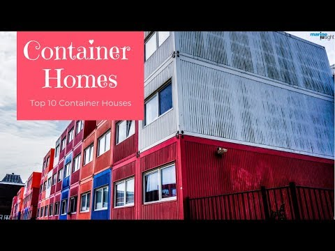 containers - Amazing 10 houses made from shipping containers from around the world.