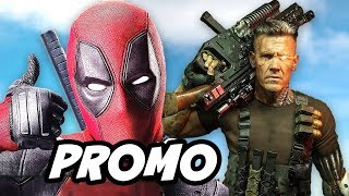 Deadpool 2 Promo and Cable First Look Reaction