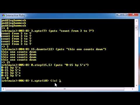 Ruby Programming Tutorial - 18 - Extracting the Value From Loops