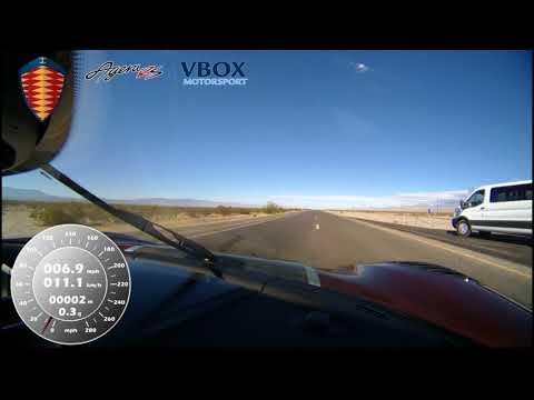 Koenigsegg Agera car hits 284 mph 457 km h