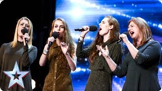 The Garnett Family mesmerise the Judges | Auditions Week 5 | Britain's Got Talent 2016