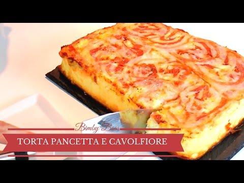 torta rovesciata di pancetta e cavolfiore - ricetta