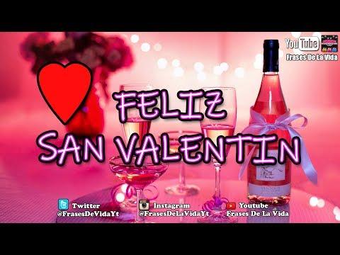 Frases celebres - Mensaje de San Valentin, dia de los enamorados