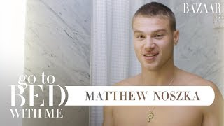 Video Matthew Noszka's Nighttime Skincare Routine For Acne | Go To Bed With Me | Harper's BAZAAR MP3, 3GP, MP4, WEBM, AVI, FLV Mei 2019