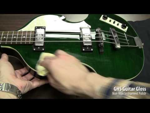 Guitar Gloss Cleaning Demo