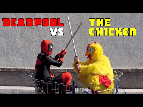 Deadpool vs The Chicken - A Family Guy Parody