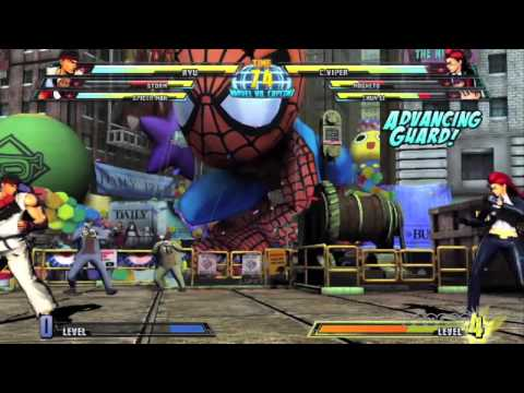 Storm and Viper announced for Marvel vs Capcom 3 with Combos Trailer