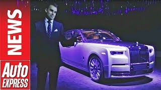 SUBSCRIBE for more great car videos: http://aex.ae/2gY9ABE New Rolls-Royce Phantom revealed: full story: http://aex.ae/2tG5iU9 It doesn't happen very often b...