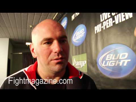 Dana White It Takes A While To Build A Business WEC