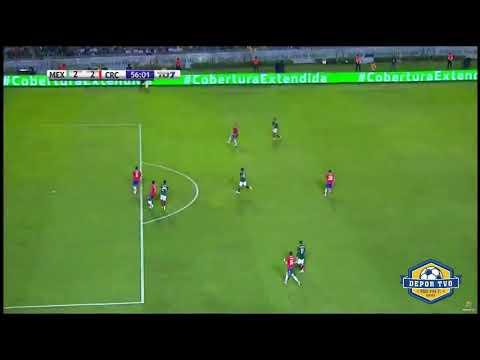 Henry Martín Goal | Henry Martín Gol | México vs Costa Rica 2-2