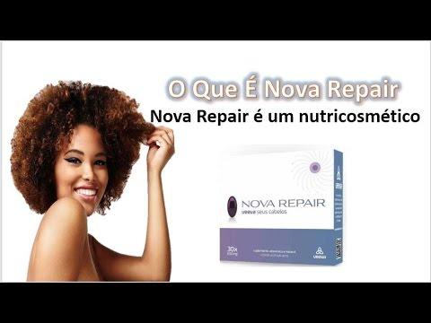 O Que É Nova Repair - Nova Repair é um nutricosmético