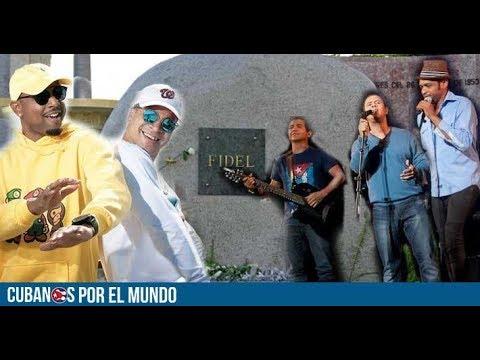 ¿Artistas cubanos cantan por los damnificados o para conmemorar a Fidel Castro?