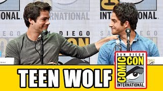 Teen Wolf's final Comic Con panel with Season 6B news & highlights.Subscribe for more! ► http://bit.ly/FlicksSubscribeN.B. Footage, clips, previews, trailers & sneak peeks shown at Comic Con panels are not included in this video, as these are not allowed to be filmed. RELATED VIDEOS--------------Teen Wolf Season 6 Comic Con 2016 Panel ► http://youtu.be/Rx15Zu1xdzMTeen Wolf Season 5 Comic Con Panel ► http://youtu.be/rPloTYUjIGkTeen Wolf Season 4 Comic Con Panel ► http://youtu.be/EnoAEOrPSGUPLAYLISTS YOU MIGHT LIKE------------------------Marvel ► http://bit.ly/MarvelVideosDC ► http://bit.ly/DCVideosFox Marvel Movies ► http://bit.ly/FoxMarvelVideosStar Wars ► http://bit.ly/StarWarsVidsMovie Deleted Scenes & Rejected Concepts ► http://bit.ly/MovieDeletedScenesEaster Eggs ► http://bit.ly/EasterEggVideosAmazing Movie Facts ► http://bit.ly/ThingsYouDidntKnowVideosPixar ► http://bit.ly/PixarVideosDisney Animation ► http://bit.ly/DisneyAnimationVideosSOCIAL MEDIA & WEBSITE----------------------Twitter ► http://twitter.com/FlicksCityFacebook ► http://facebook.com/FlicksAndTheCityGoogle+ ► http://google.com/+FlicksAndTheCityWebsite ► http://FlicksAndTheCity.comThanks to Comic Con International http://www.comic-con.org/Just before the series is set to end its historic run on MTV, this panel will take a look back at where it all began. Teen Wolf cast and crew will be on hand to reminisce about how the show got started, talk through the challenges that shaped it as it grew into a beloved series, and tease the epic moments that will close out a six-year saga. Expect series regulars, surprise guests, and one last chance to say goodbye to a TV show that defied expectations at every turn.