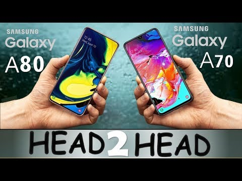 SAMSUNG GALAXY A80 VS SAMSUNG GALAXY A70