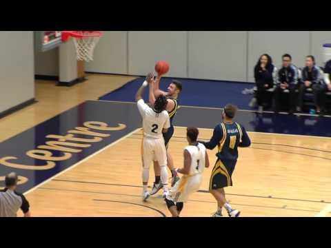 2016-01-30 TWU Men's Basketball Highlights vs Brandon