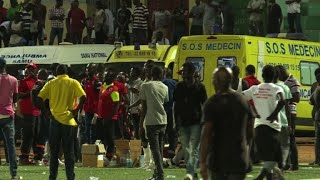 Eight people were killed during Senegal's football league final in Dakar on Saturday in a stampede that broke out following...