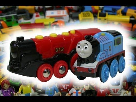BRIO Eisenbahn Big Fun (The Movie) Wooden Railway System/Thomas and Friends Toy Train Kinderkanal