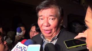 Drilon: I don't know why Bong Revilla wants me to testify