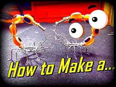Como Hacer un Escorpion en Alambre//How to Make a Wire Scorpion - By Puntoy Alambre.