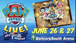 Paw Patrol @ BancorpSouth Arena, June 2018