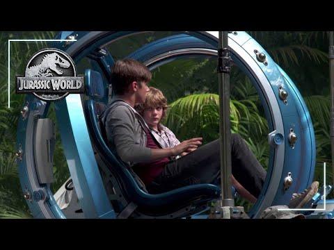 Jurassic World: Gyrosphere   Behind the Scenes   Jurassic World