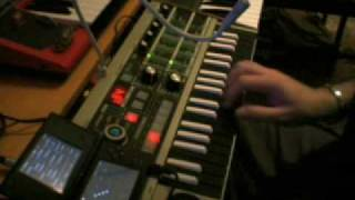 """DAFT PUNK """"Something about us"""" COVER with KORG DS-10 + MICROKORG"""
