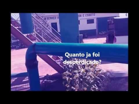 DESPERDIÇO DE ÁGUA NO SAAE EM CAMPO DO MEIO-MG