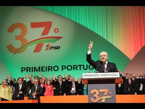 """""""Devemos estar todos disponíveis em nome do interesse nacional"""", Rui Rio no Encerramento do 37.º Congresso do PSD"""