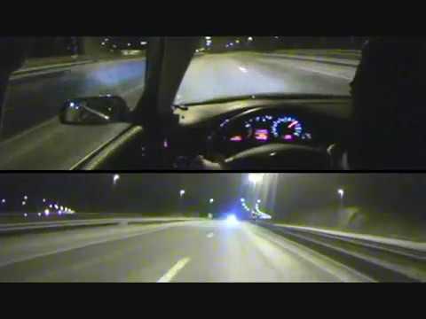在高速公路開著300公里被警車追趕!