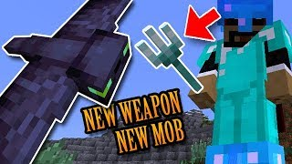 Minecraft: New Powerful Weapon and Mob