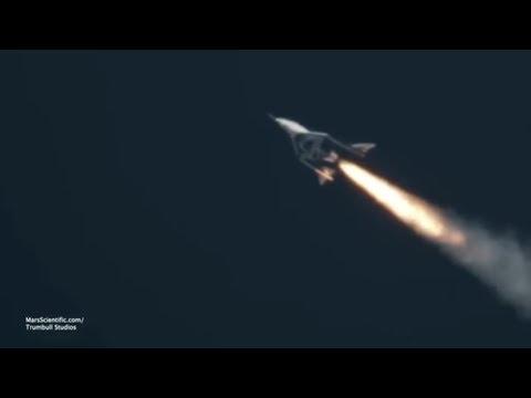Privater Raumfahrt-Tourismus: Virgin-Galactic-Raumflu ...