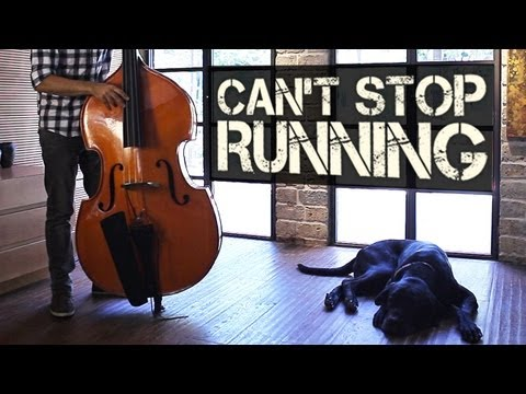 Can't Stop Running - Percussive Double Bass Solo