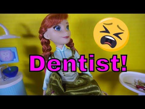Anna And Elsa Go To The Dentist!_Ön is fél a fogorvosnál? De mit csinálnak mások?