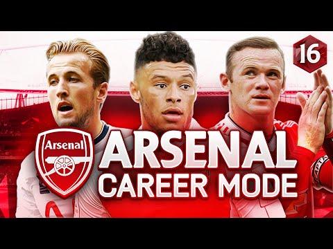FIFA 16 Arsenal Career Mode - TITLE DECIDER?! NORTH LONDON DERBY! - Season 1 Episode 16