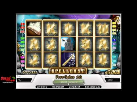 Incredible £784 Win - Free Games Bonus - Spellcast Online Slots Review