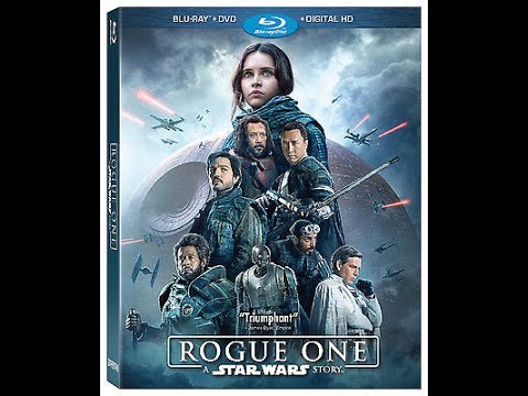 Opening To Rogue One:A Star Wars Story 2017 Blu-Ray (Disc 2)