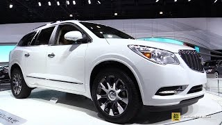 2016 Buick Enclave Tuscan Edition – Turnarond – 2015 New York Auto Show