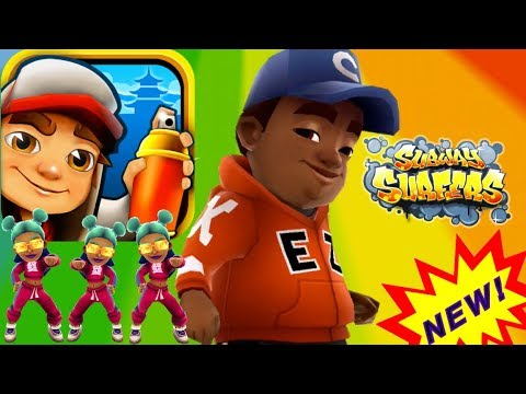 New GamePlay Subway Surfers 2019 Games 🔴 Gameplay With E.Z. Chicago Boy in Atlanta World Tour