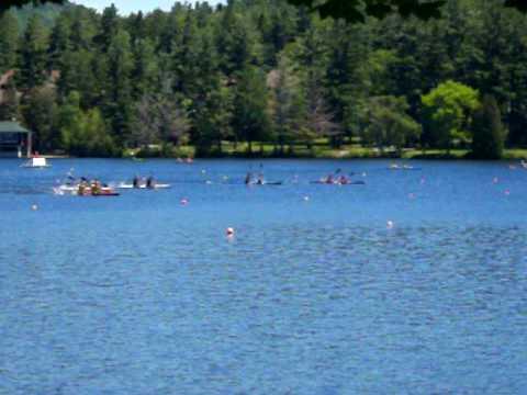 Lake Placid 2010 Mens Juvenile K2 200m heat2