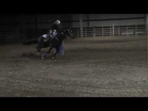 Beth from BNB stables running 1/12/13 @ Broken Bow Arena Bedford, Va