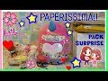 PAPERISSIMA! PAPERE, UNBOXING, PACK SURPRISE e ....LIL GOLD!!! by Lara e Babou