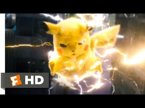 Pokémon Detective Pikachu (2019) - Poké Floats Smash Scene (7/10) | Movieclips