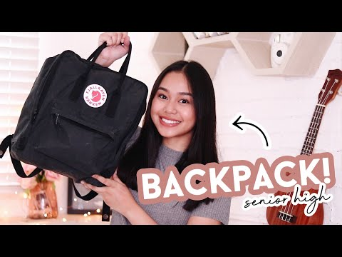 What's In My Backpack 2019! (senior High School) | Thatsbella