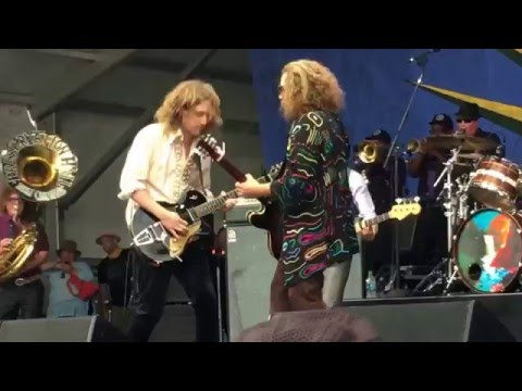 My Morning Jacket covers Prince at Jazz Fest