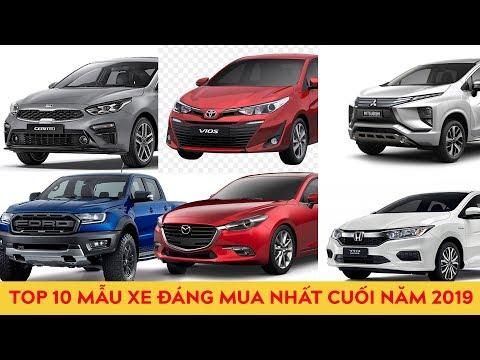 Top 10 mẫu xe đáng mua nhất vào dịp cuối năm 2019 @ vcloz.com