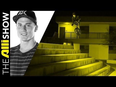 Dennis Enarson takes the Markit BMX Crew on the Road for a Week in the Van, The Alli Show
